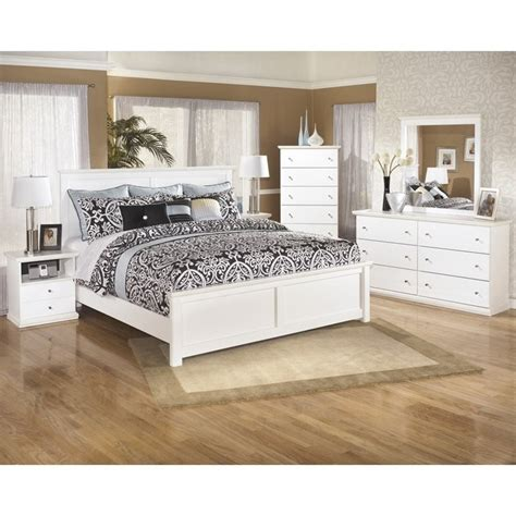 bostwick shoals bedroom set ashley bostwick shoals 6 piece wood king panel bedroom set