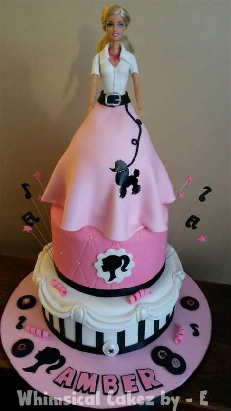 black doll cake pink white black cake themes inspiration