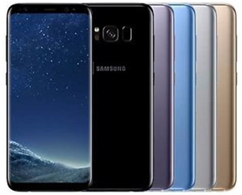 Samsung S8 Black Gold Orchid Grey samsung galaxy s8 sm g955f factory unlocked 6 2 quot 64gb black silver gold blue ebay