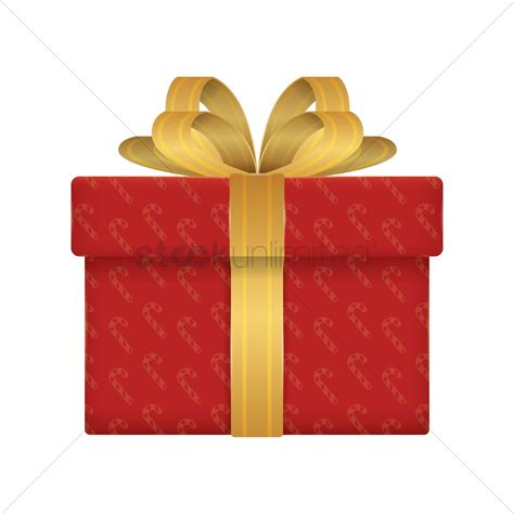 christmas gift box vector image 1934703 stockunlimited