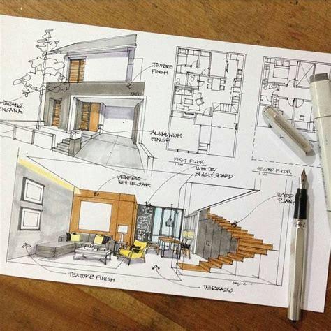 architectural home design names las 25 mejores ideas sobre bocetos arquitect 243 nicos en