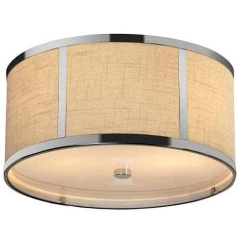 trend lighting pique 2 light polished chrome ceiling