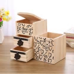 desk pencil holder aliexpress buy wooden pen holder kawaii desk