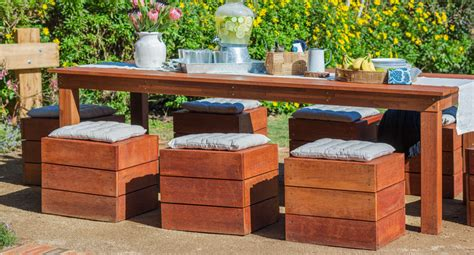 how to make an outdoor table and chairs better homes and