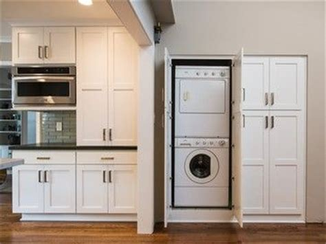 washing machine in kitchen design 18 best images about hidden washing machines on pinterest