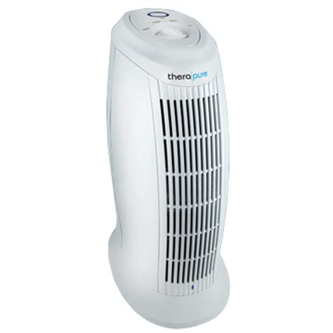 therapure tpp101m germicidal and air purifier permanent hepa type filter removes smoke pollen