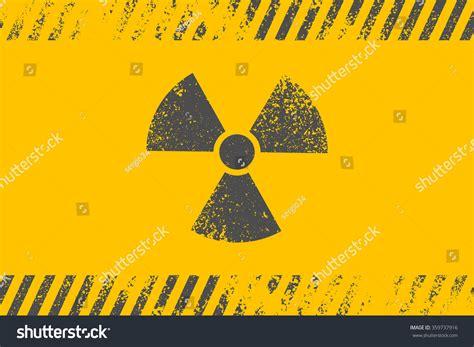 design elements radiation radioactive symbol design element vector illustrationeps