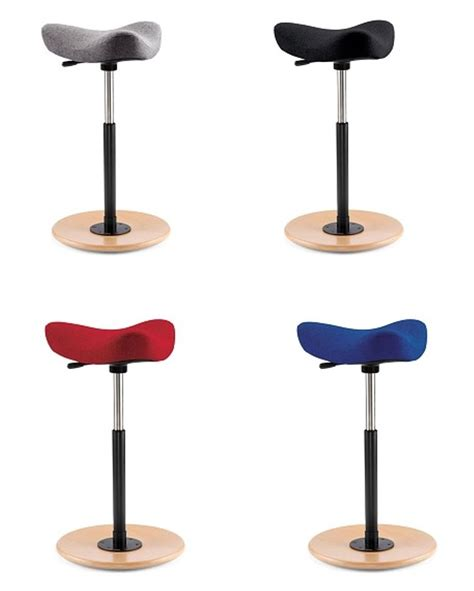 Varier Move Standing Stool by Move Stool By Vari 233 R Standing Assistant With Saddle Seat O