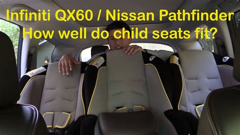 2014/2015 Infiniti QX60 and Nissan Pathfinder Child Seat