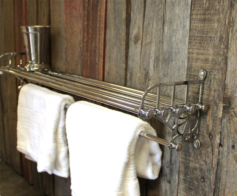 train rack bathroom chrome train rack for bathroom with shelf and towel rail