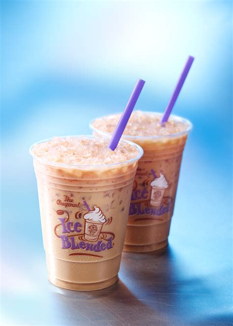 Caramel Blended Coffee Bean the coffee bean tea leaf kick summer with new drinks lalascoop