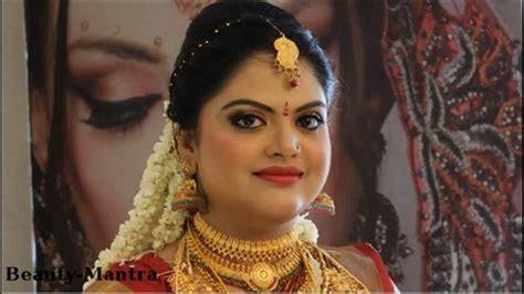 bridal hairstyles in kerala kerala bridal hairstyle youtube