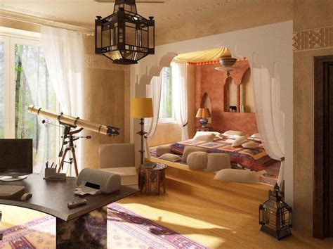 Moroccan Office Decor by Lit Au Sol Home Moroccan Bedroom
