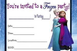frozen birthday invitation printable 9 best images of frozen birthday invitations printable