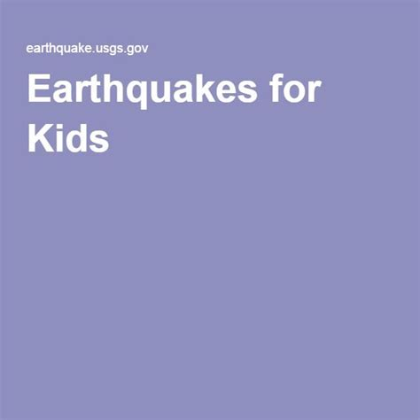 earthquake for kids the 25 best earthquakes for kids ideas on pinterest