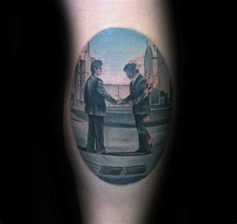 wish you were here tattoo 80 pink floyd tattoos for rock band design ideas