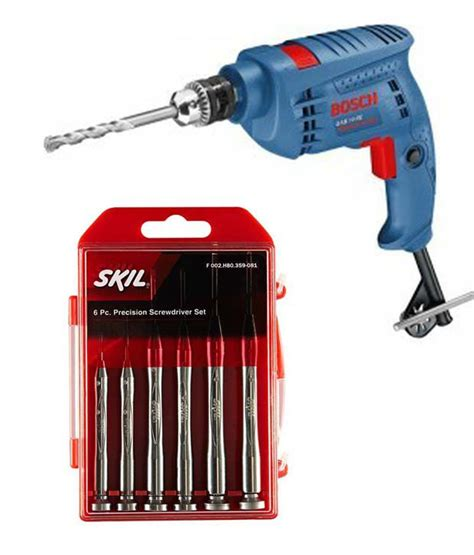 Kenmaster Tool Kit 100 Pcs N2 buy bosch gsb 10 re impact drill with smart tool kit 10mm 500w with free skil screwdriver set 6