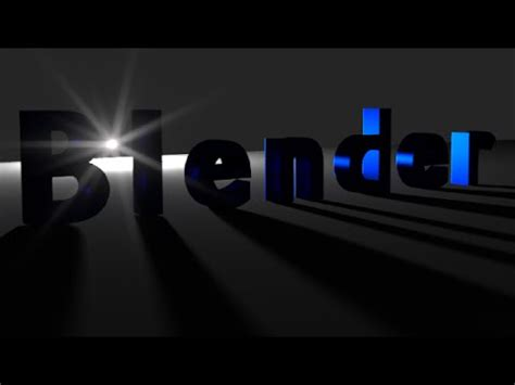 blender tutorial animation text blender animation tutorial text with bright background