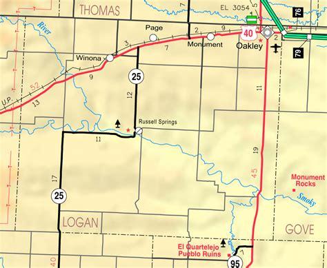 Logan County Records Maps Of Logan County Kansas Familypedia