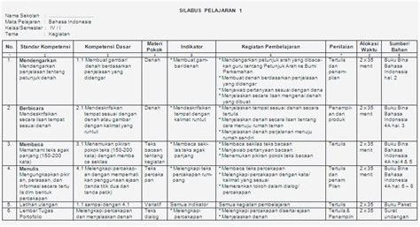 bina bahasa indonesia jilid 3a contoh silabus bina bahasa indonesia kelas 4 sd bank