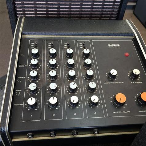 Blender Sharp Em 125l W vintage yamaha em 80 mixer reverb