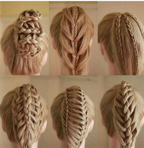 Different Braiding Hair | different types of braids hair pinterest different
