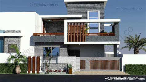 modern duplex house elevation designs modern home design