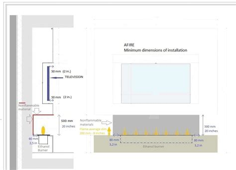 Design A Salon Floor Plan cheminee ethanol et television une approche moderne et design