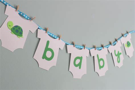 bathroom banner turtle baby shower banner turtle baby shower decorations boy