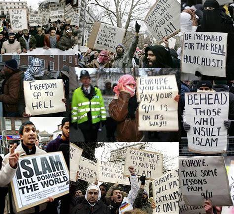 Kaos Go Muslim Islam Will Rule The World islam pfft cry me an