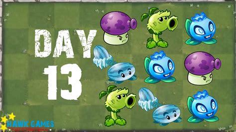Plants Vs 13 Tshirtkaosraglananak Oceanseven plants vs zombies 2 modern day day 13 beghouled i no premium