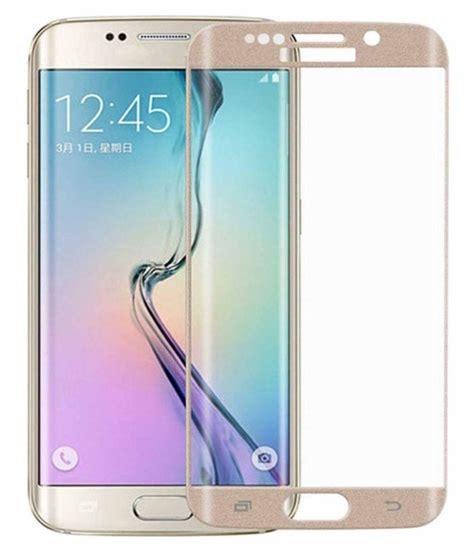 Tempered Glass Sarang For Samsung S6 Edge coskart tempered glass screen guard for samsung galaxy s6