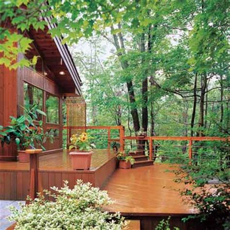 building a deck on a sloped backyard pick your design read this before you build your deck