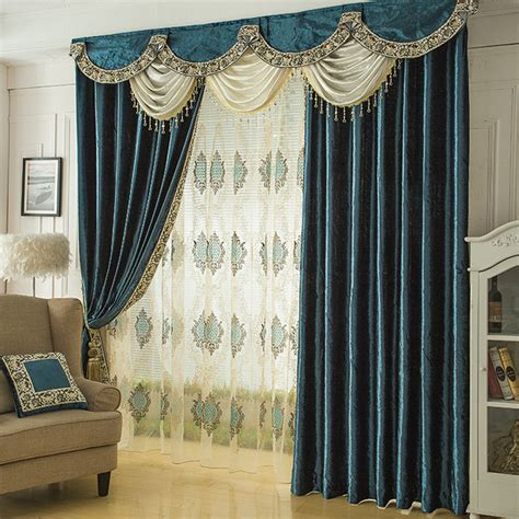 quality curtains and drapes aliexpress com buy solid velvet curtains for bedroom