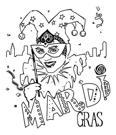 mardi gras coloring pages 5 family crafts for tuesday 2011 mardi gras for