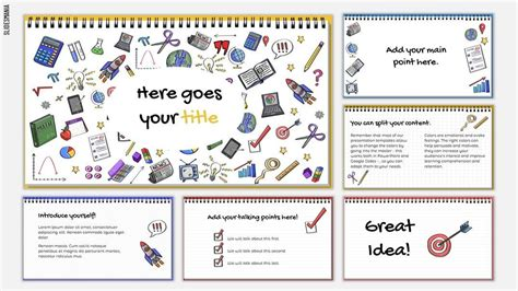 doodles template google powerpoint