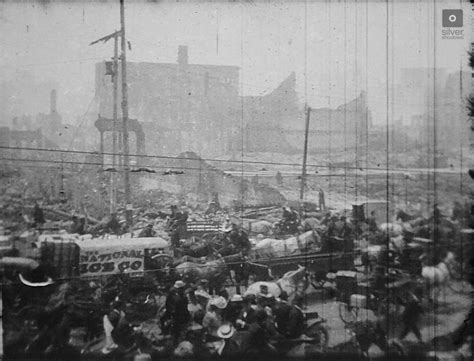 earthquake film long lost 1906 film of san francisco after the earthquake