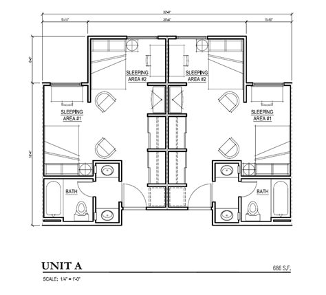 student housing floor plans building floor plans