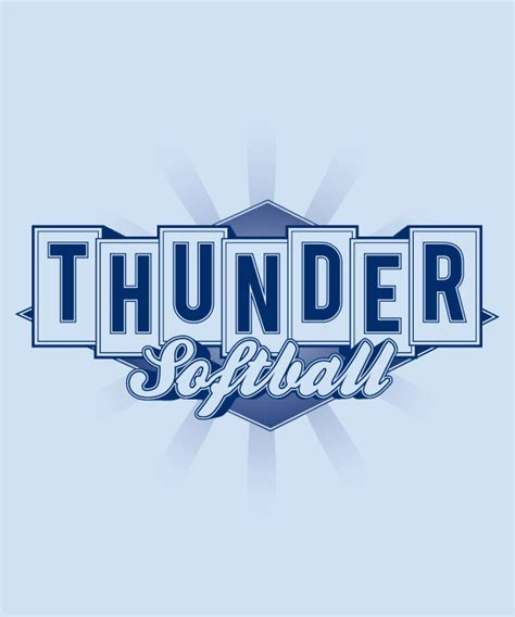 thunder softball his image designs his image designs