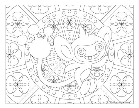 pokemon coloring pages aipom free coloring pages of ambipom ambipom pokemon coloring