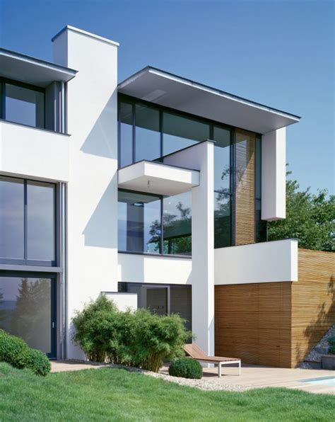 modern residential architecture floor plans one shared facade two modern residences