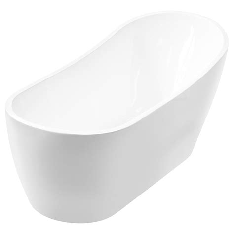 54 acrylic bathtub lesscare ltf6 freestanding bathtub one piece acrylic cast