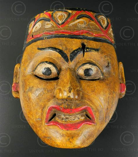 Topeng Mask Rinegantobi 3 Eye surakarta topeng mask id80 surakarta region central java island indone