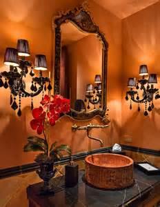 home sweet home bath room i the burnt orange and