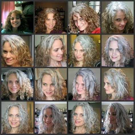 how to transition to gray hair from dyed transition from dyed to gray hair short hairstyle 2013