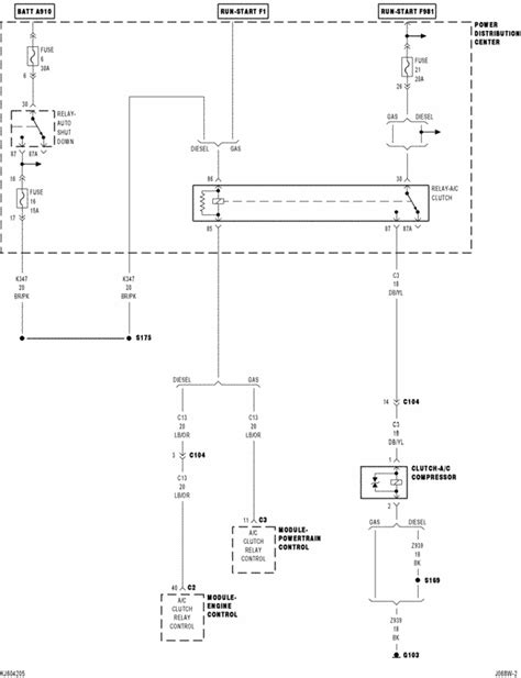 how to wire ac compressor clutch relay wiring diagrams