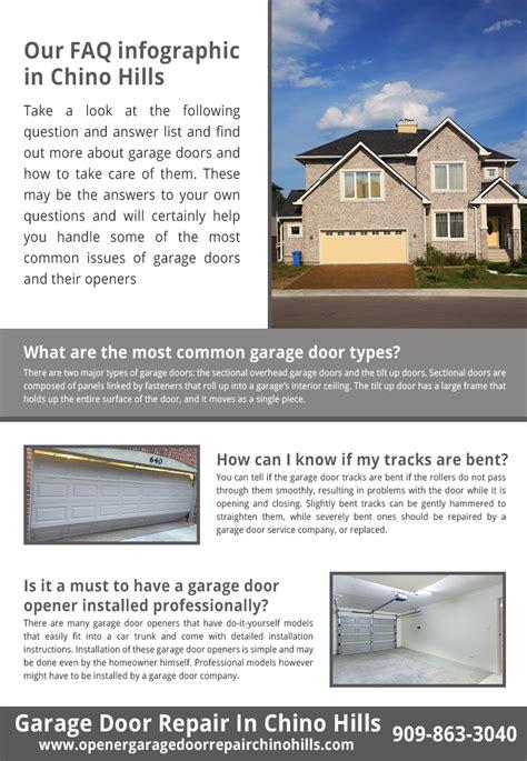 Chion Garage Door Openers Garage Door Repair Chino Infographic
