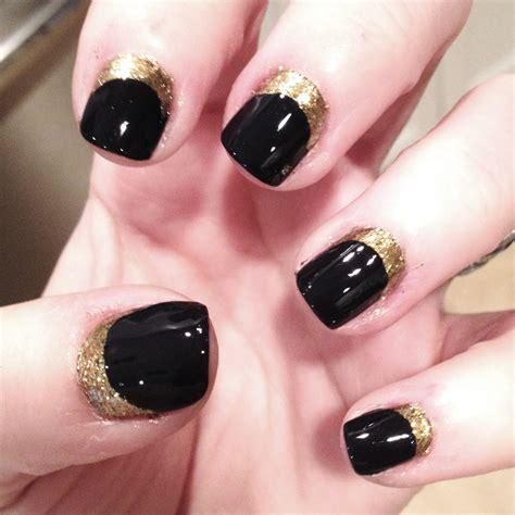 easy nail art gold tiffanyd nail art tutorial navy gold quot ruffian quot inspired