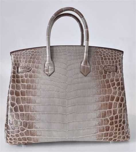 Mes Birkin Himalaya Mini hermes himalayan nilo crocodile 35cm birkin bag limited edition janefinds hermes handbags discount