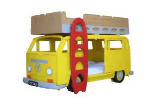 Children S Vw Beds Vw Cer Bay Theme Bunk Bed By Furniture